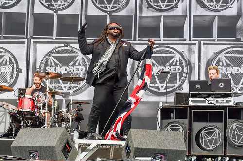 Skindred at Leeds Festival 2016
