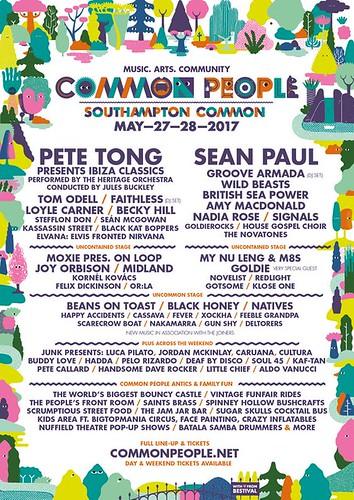 common people southampton 2017