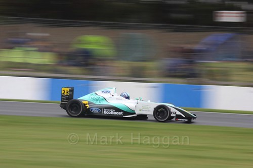 Billy Monger in British Formula Four Race Three at the British Touring Car Championship 2017 at Donington Park