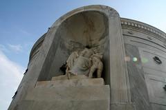 Italian Mutual benevolent tomb headless