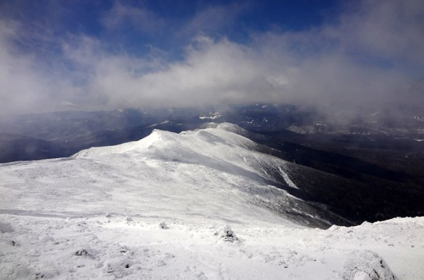 Southern Presidential Range in Winter
