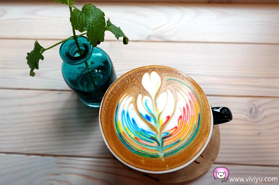中正藝文特區,可頌,彩色拉花咖啡,早午餐,未秧咖啡,桃園咖啡,桃園美食,莊二街咖啡館 @VIVIYU小世界