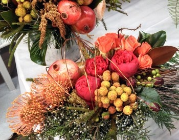 Fall Centerpiece  — Photo by Sharon McGukin AAF, AIFD, PFCI