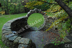 WM Chuck Eblacker 1, Free standing wall, Arch circle
