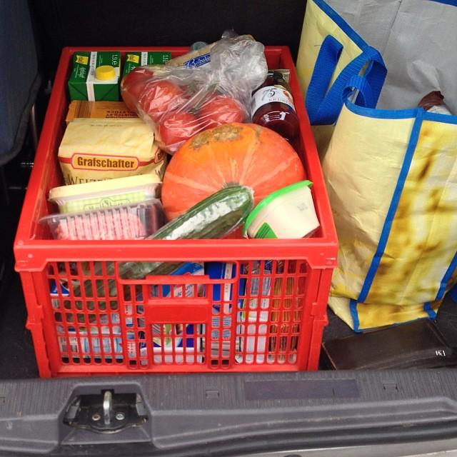 #5 Alles im Kofferraum verstaut #12v12  #12von12