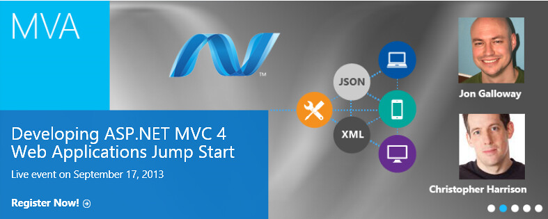 MVA - ASP.NET MVC 4 Jump Start