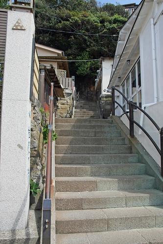 江の島(遊歩道)(Enoshima Island, Kanagawa, Japan)