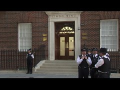 Royal baby cam Lindo Wing London