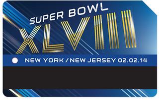 Super Bowl MetroCards