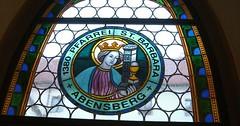 """Das Kirchenfenster. Die Kirchenfenster. Das Bleiglasfenster. Die Bleiglasfenster. Die Glasstücke wurden mit Blei eingefasst und verlötet. • <a style=""""font-size:0.8em;"""" href=""""http://www.flickr.com/photos/42554185@N00/33718637994/"""" target=""""_blank"""">View on Flickr</a>"""