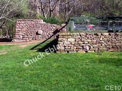 WM Chuck Eblacker 10, B3, Free standing wall, retaining wall