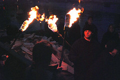 WaterFire Lighting Ceremony
