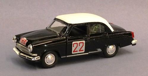 Autotime Gaz 21 Volga rally 1964