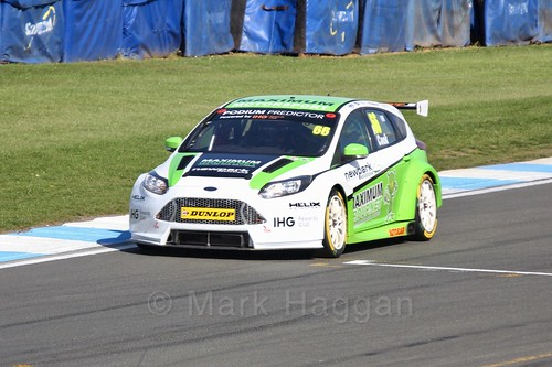 Josh Cook during qualifying during the BTCC Weekend at Donington Park 2017: Saturday, 15th April