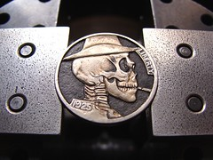 "Last sigarette skull Hobo nickel • <a style=""font-size:0.8em;"" href=""http://www.flickr.com/photos/72528309@N05/9420035111/"" target=""_blank"">View on Flickr</a>"