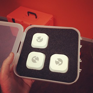 nerd candy. some iBeacons have arrived