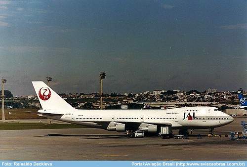"""Japan Airlines - JA8161 • <a style=""""font-size:0.8em;"""" href=""""http://www.flickr.com/photos/69681399@N06/33276636864/"""" target=""""_blank"""">View on Flickr</a>"""