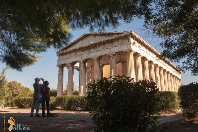 Templo de Hefesto, em Atenas