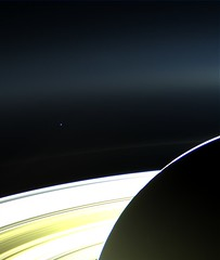 Saturn and Earth #2