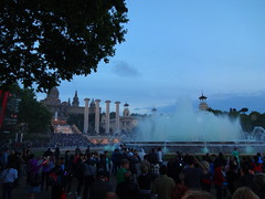 Montjuic fountains