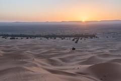 Sunset at Merzouga