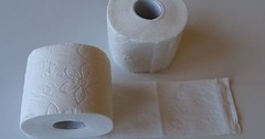 """Das Toilettenpapier. Die Toilettenpapiere. Das Klopapier. Die Klopapiere. Hier liegen zwei Rollen Klopapier. • <a style=""""font-size:0.8em;"""" href=""""http://www.flickr.com/photos/42554185@N00/33592861114/"""" target=""""_blank"""">View on Flickr</a>"""