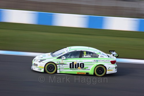 Rob Austin during qualifying during the BTCC Weekend at Donington Park 2017: Saturday, 15th April
