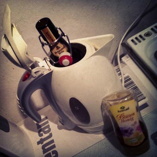 Heißes Bier mit Honig #Genesungstrunk