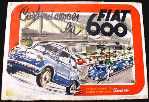 Rivarossi Fiat 600 da montare