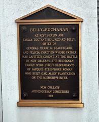 Belly Buchanan plaque