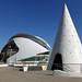 OVANLIG arkitektur, från Valencia i Spanien  /  Unusual architecture in Valencia, Spain