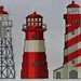 Three lighthouses