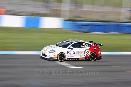 Aron Taylor-Smith in qualifying during the BTCC Weekend at Donington Park 2017: Saturday, 15th April