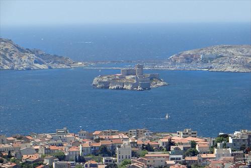 Les îles du Frioul et le Château d'If (Marseille)