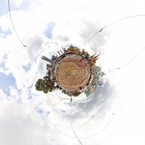 Melbourne Federation Square - Little Planet