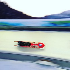 Bobsleigh ride. Thanks for the pic Jesse!