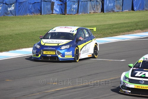Stephen Jelley during qualifying during the BTCC Weekend at Donington Park 2017: Saturday, 15th April