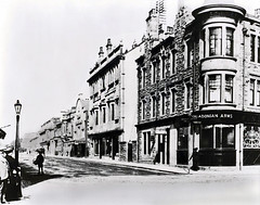 """Bank Street/High Street Junction (circa 1900?) • <a style=""""font-size:0.8em;"""" href=""""http://www.flickr.com/photos/36664261@N05/14219106146/"""" target=""""_blank"""">View on Flickr</a>"""