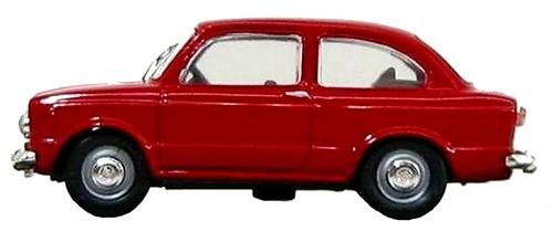 12 Tel Model Fiat 850