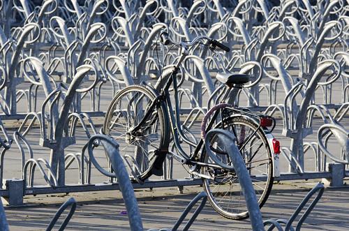 bike bicycle repetition fiets bikepark bicycleracks... (Photo: Jan van der Wolf on Flickr)