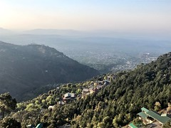 View of Dharamsala valley from Mcleod Ganj