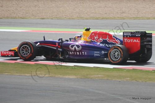 Daniel Ricciardo in The 2014 British Grand Prix