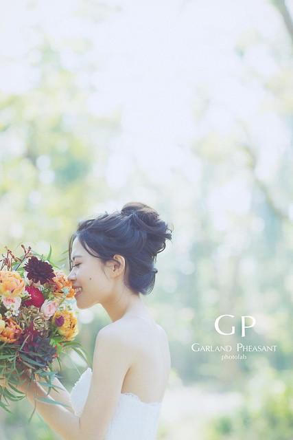 台南自助婚紗GP Photolab |雞與花環照相館