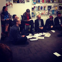 Sit-in prayer vigil for asylum seekers, at Opposition Leader Bill Shorten's Melbourne office