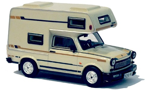 IST Trabant 601 camper