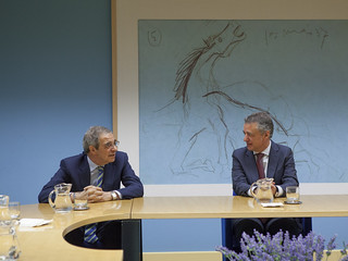 César Alierta e Iñigo Urkullu