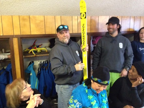 Broken Ski Award 2013 - Bruce Saario