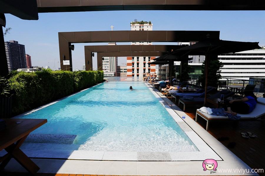 [泰國.住宿]高空透明泳池.專業健身房進駐~曼谷索菲特美憬閣VIE飯店 (VIE Hotel Bangkok) @VIVIYU小世界
