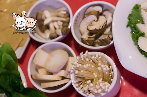 Mushroom Combo - 金针菇,鲜鲜菇,蟹味菇,杏鲍菇