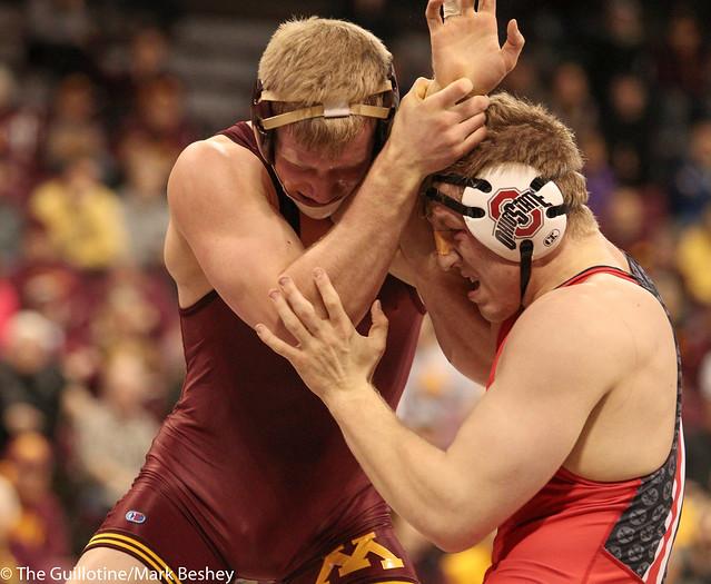 197 #2 Brett Pfarr (Minnesota) dec. #4 Kollin Moore (Ohio State) 7-5